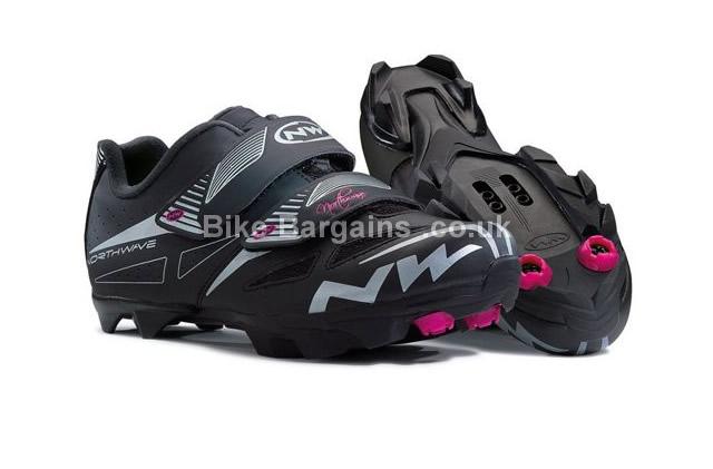 Northwave Ladies Elisir Evo Black MTB Shoes 2015 42, black