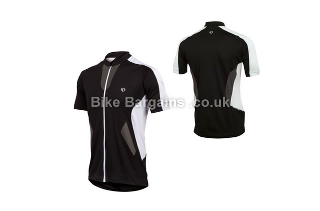 Pearl Izumi Divide Short Sleeve Black Cycle Jersey M, black