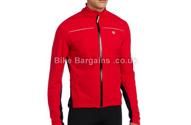 Pearl Izumi Mens Select Barrier Taped Seams WXB Jacket S, red