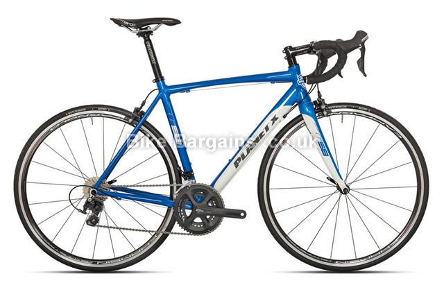 Planet X RT-58 Alloy Shimano 105 5800 Blue Road Bike L, blue