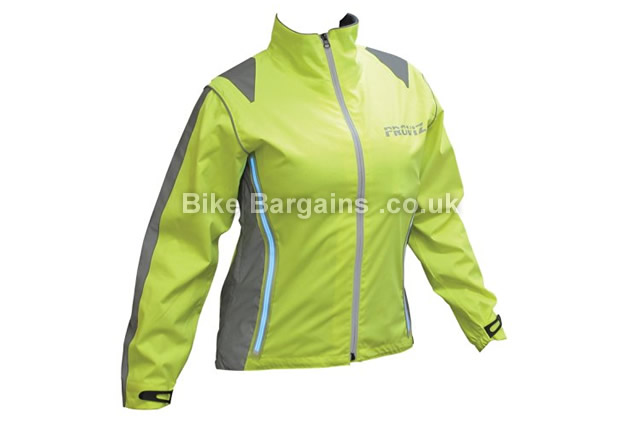 Proviz Luminescent Ladies Waterproof Jacket 14, black