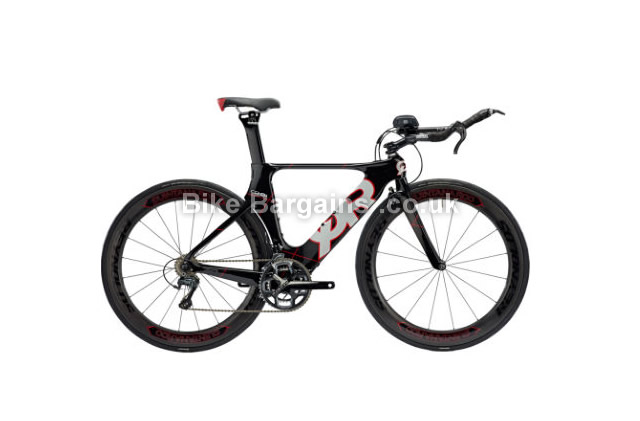 Quintana Roo CD0.1 Carbon Ultegra Race Time Trial Bike 2016 black, red, S, M