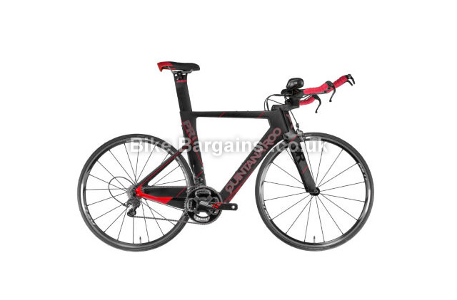 Quintana Roo PRSix Carbon Ultegra Time Trial Bike 2016 48cm, 50cm, black, red