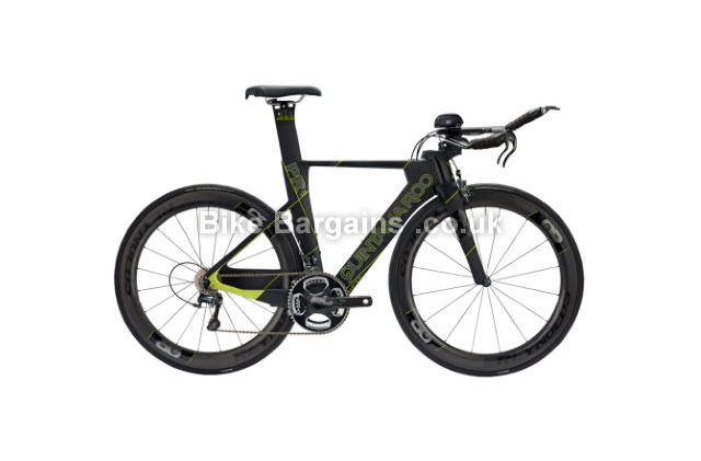 Quintana Roo PRSix Carbon Ultegra Race Time Trial Bike 2016 48cm, black, green