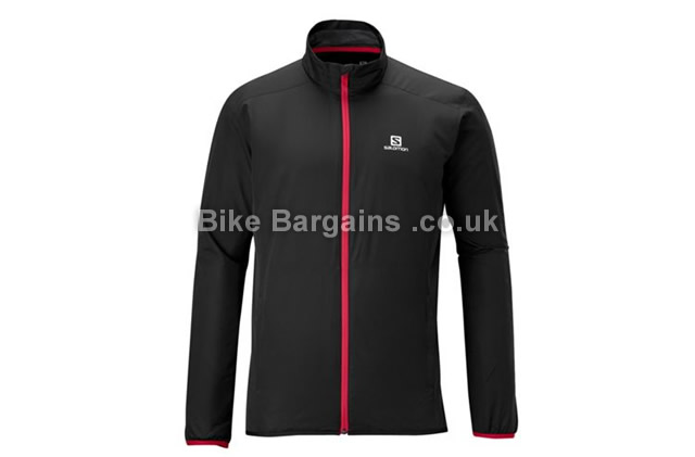 Salomon Start Windproof Jacket S,L,XL, black, red