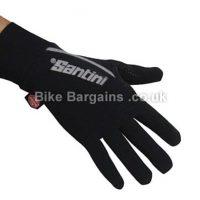 Santini Krios Windstopper Water Resistant Xfree Full Finger Gloves