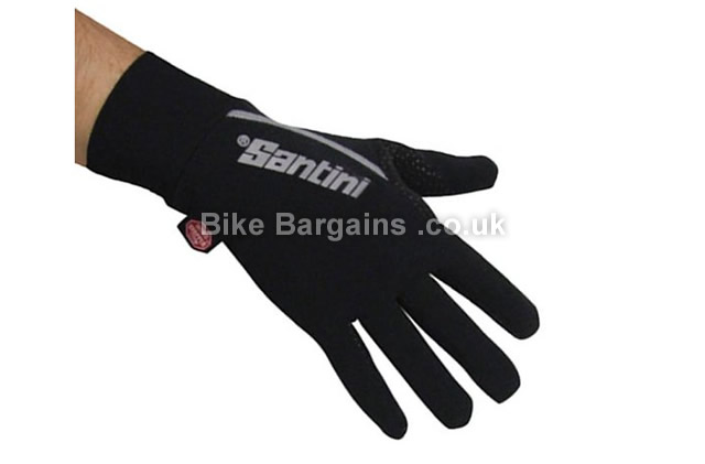 Santini Krios Windstopper Water Resistant Xfree Cycling Glove black, XS,S