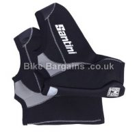 Santini Neo Blast Black Waterproof Windproof Overshoe