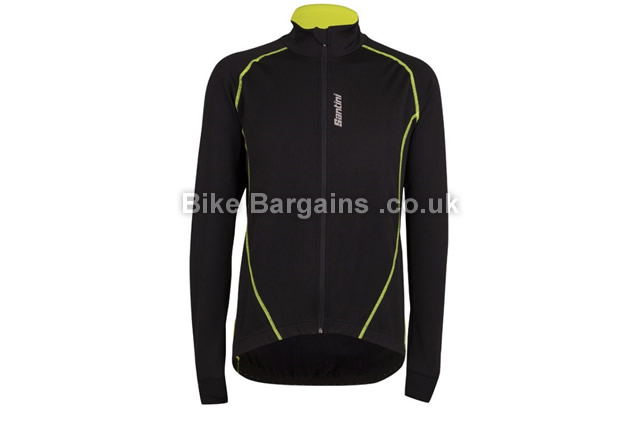 Santini Nova Zero Thermal Wind Cycling Jacket black, S,M,L,XXL
