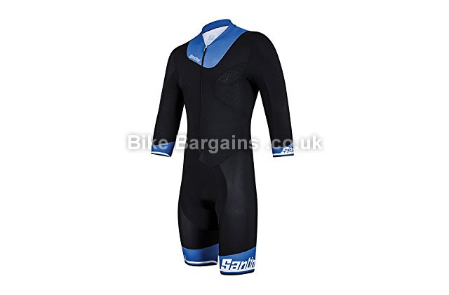 Santini Photon Three Quarter Sleeve Lightweight Aero Speed Suit M,L