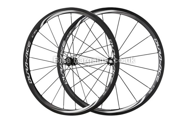 Shimano Dura-Ace 9000 C35 Black Tubular 700c Road Wheelset black, 700c