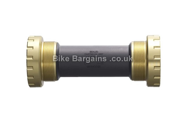 Shimano Saint BB80 Hollowtech II MTB Bottom Bracket 83mm, gold