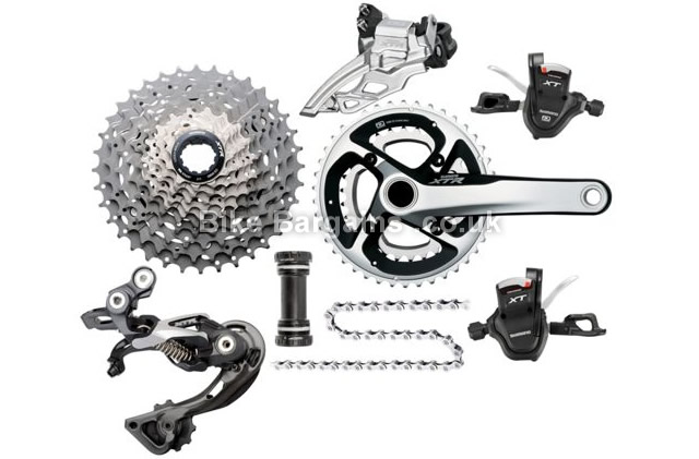 Shimano XTR-XT M985 Race Gear Transmission MTB Groupset 10 speed, includes XTR cranks!