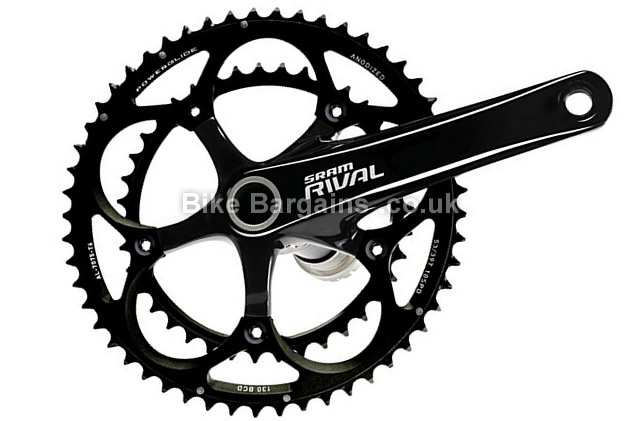 Sram Rival Black Road Chainset with GXP BB 170mm
