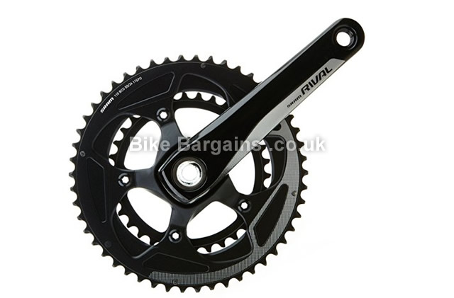 SRAM Rival22 Road Chainset 172.5mm, 175mm