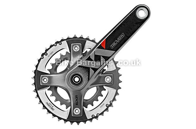 SRAM XX GXP AL-7075-T6 10 Speed Chainset 170mm, 175mm, black