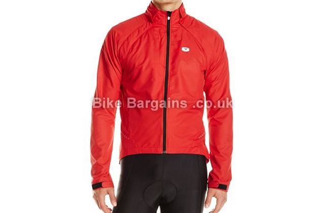 Sugoi Mens Versa Magnetic Removable Sleeves Cycling Jacket M, red