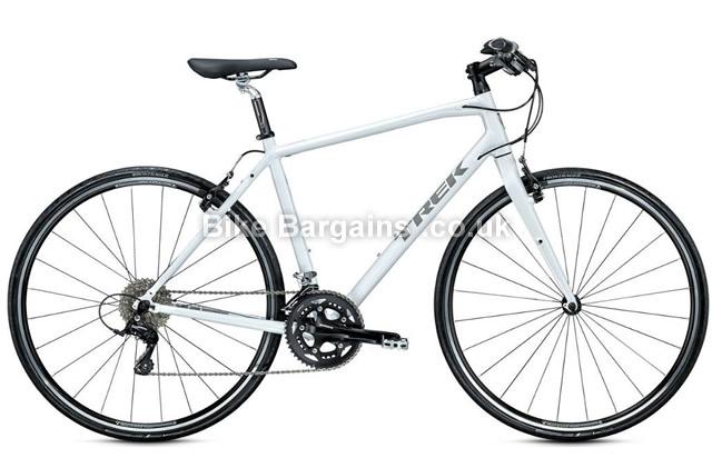 """Trek 7.5 FX Alloy Hybrid Bike 2015 white, 20"""""""
