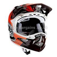 Troy Lee D3 Carbon MTB Full Face Helmet