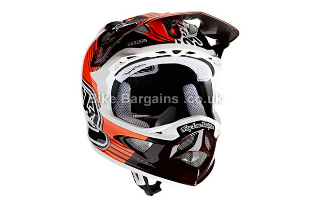 Troy Lee D3 Carbon MTB Full Face Helmet red, S