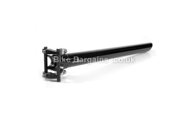 Tune Black Series SP-420 Seatpost 31.6mm, black, 420mm