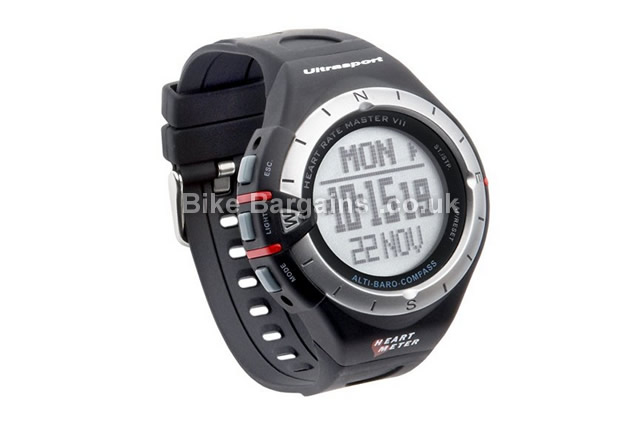 Ultrasport Multirun 200 Heart-Rate Monitor Watch black