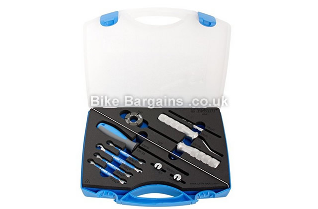 Unior Master Cycling Wheel Building Kit 16 tools