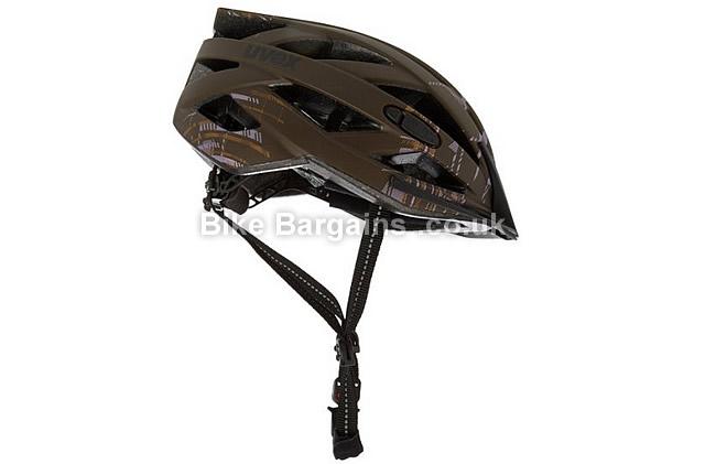 Uvex I-VO Brown Cycling Helmet brown, S