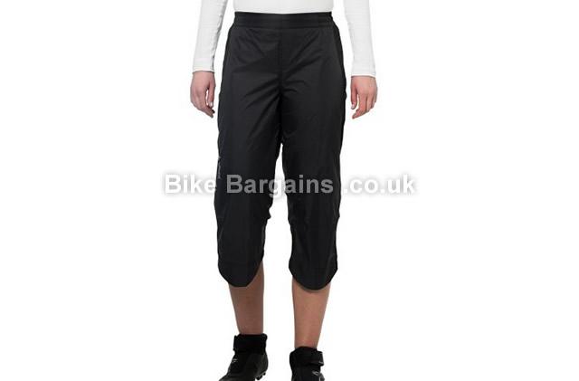 Vaude Ladies Spray II 3/4 Cycling Pants black, 38