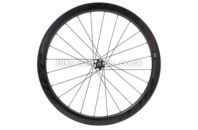 Zipp 303 Tubular Disc Brake V2 77D 24 Spokes Front Road Wheel black, 700c