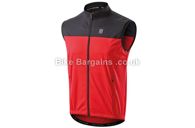 Altura Core Softshell Cycling Gilet red, XL