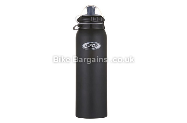 BBB Alu Tank XL Alloy 750ml Water Bottle black, 750ml