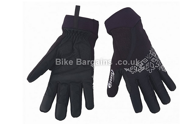 BBB LadyShield Winter Ladies Cycling Gloves black, XL