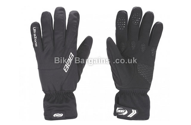 BBB UltraZone Black Winter Cycling Gloves black, M, L, XL