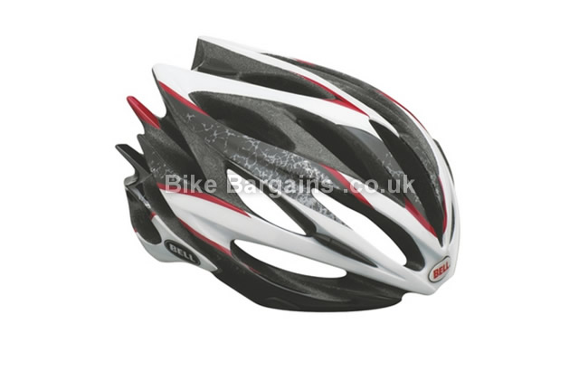 Bell Sweep Road Helmet 2014 S, Black, White, 297g, 20 vents