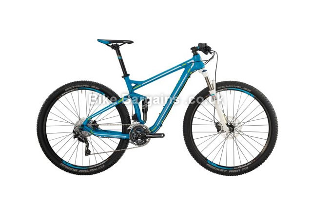 Bergamont Fastlane 6.4 Alloy Full Suspension Mountain Bike 2014 54cm