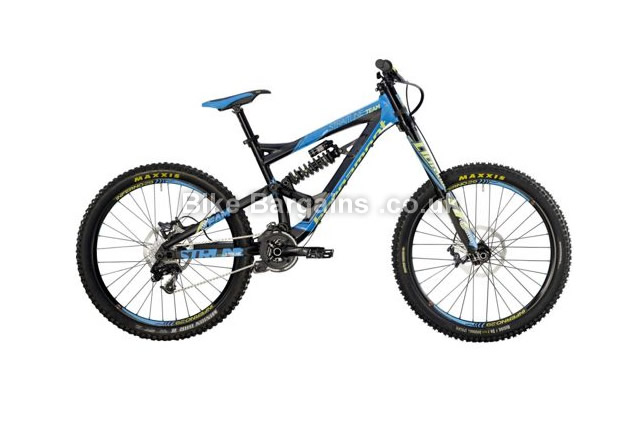 Bergamont Straightline Team Full Suspension Mountain Bike 2014 S