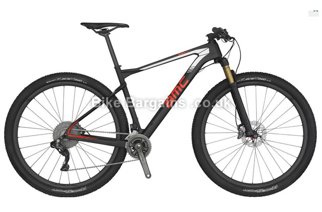 BMC Teamelite TE01 XTR Di2 Carbon Hardtail Mountain Bike 2016 XL
