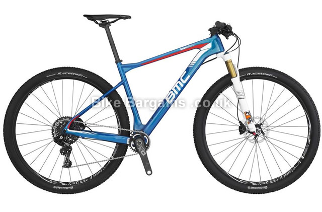 "BMC Teamelite TE02 X01 29"" Carbon Hardtail Mountain Bike 2016 XS"
