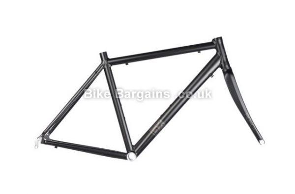 Brand-X RD-01 Alloy Caliper Road Frameset 56cm,58cm, Black, Alloy, Carbon, 1.69kg, Caliper Brakes, 700c