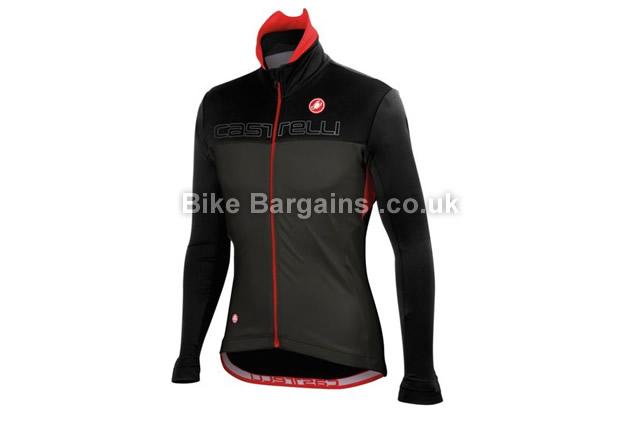 Castelli Poggio Windproof Cycling Jacket M, black