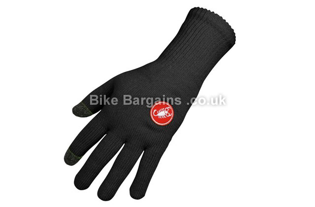 Castelli Prima Coolmax Cycling Glove L, XL, XXL, Yellow, Red