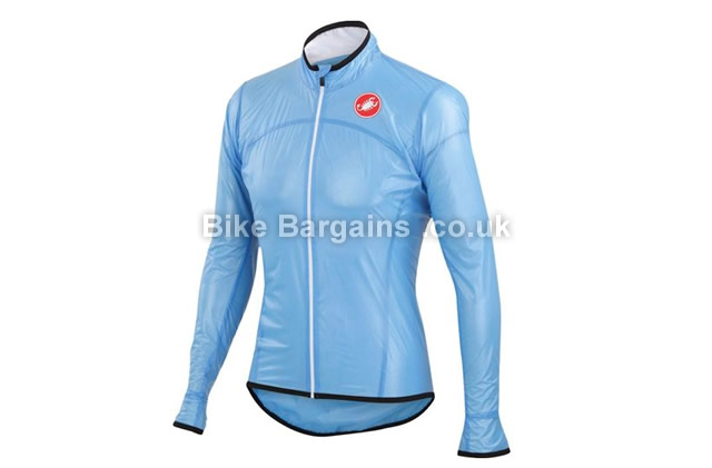 Castelli Sottile Due Waterproof Cycling Jacket S,transparent,
