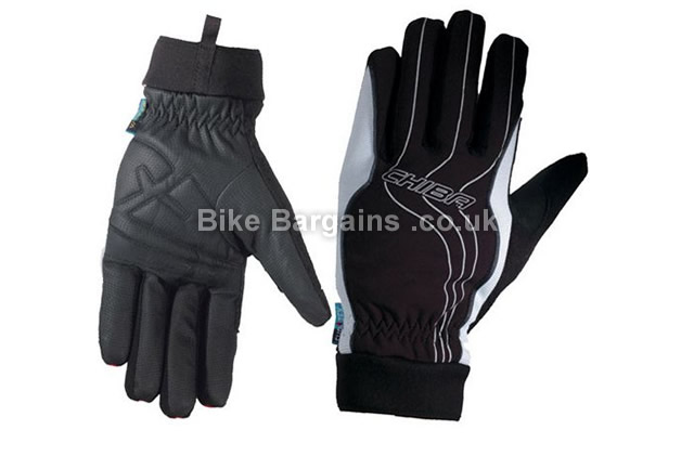 Chiba Kids Rain Pro Waterproof Cycling Gloves Black, L