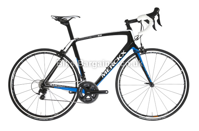Eddy Merckx Mourenx 69 105 Carbon Road Bike 2016 black, S