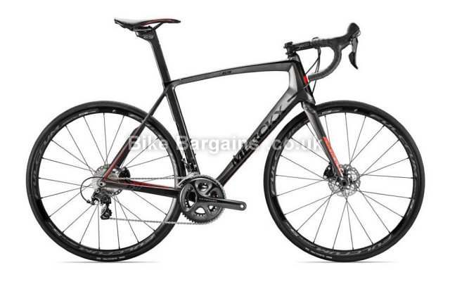 Eddy Merckx Mourenx 69 Disc Ultegra Carbon Road Bike 2016 black,red, S,M,L,XL