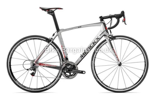 Eddy Merckx Mourenx 69 Sram Red Carbon Road Bike 2016 grey, XXL