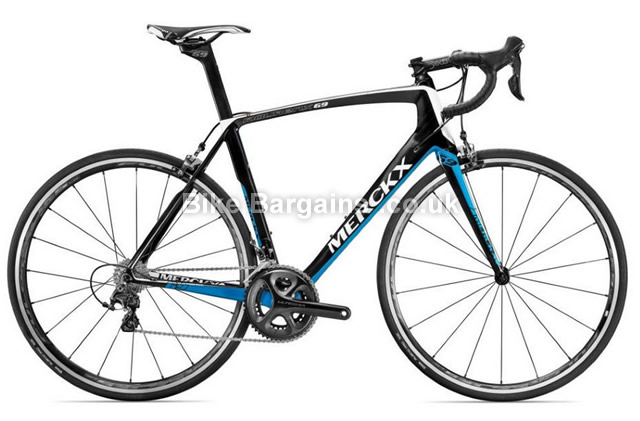 Eddy Merckx Mourenx 69 Ultegra Carbon Road Bike 2016 blue, black, M, L