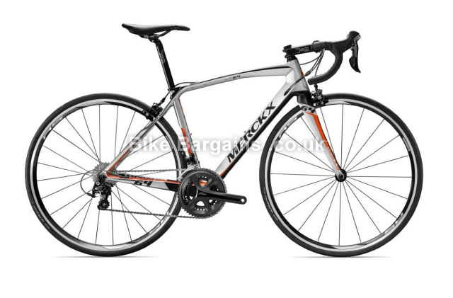 Eddy Merckx Sallanches 64 105 Carbon Road Bike 2016 silver, XS