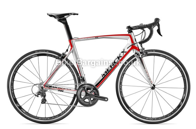 Eddy Merckx San Remo 76 Ultegra Carbon Road Bike 2016 black, grey, L